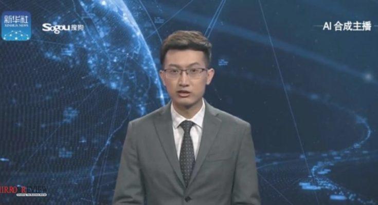 World first AI news anchor