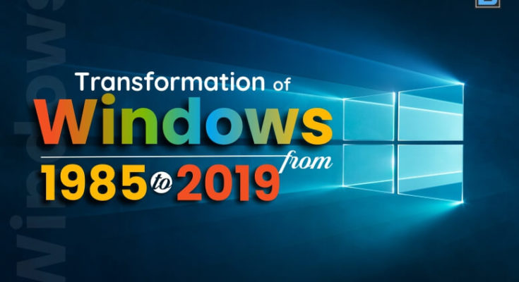evolution of Windows OS