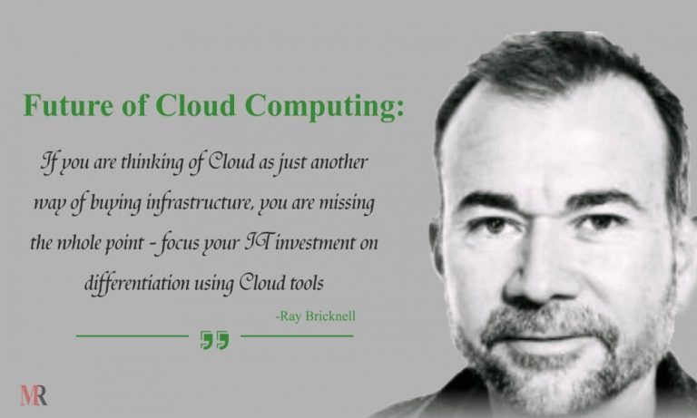 Future of Cloud Computing by Ray Bricknell