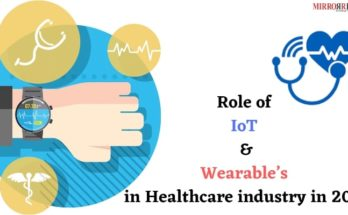 Role of IoT and Wearable's in Healthcare industry in 2019