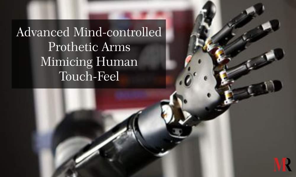 Advanced Mind Control Prosthetic Arm