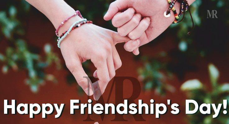 Happy Friendship's Day!