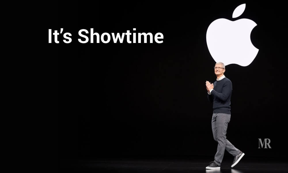 Tim Cook at the Apple card event