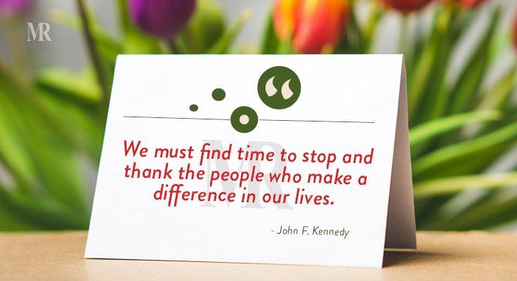 John F. Kennedy quote on teachers