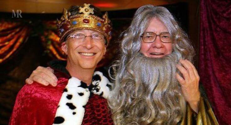Bill Gates Halloween
