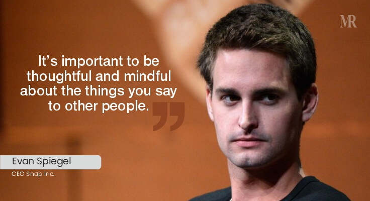 Evan Spiegel Quotes | business tycoons