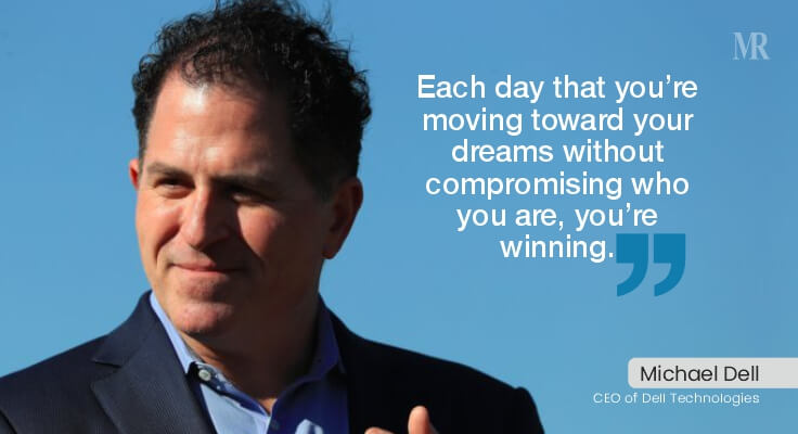 Michael Dell Quotes | business tycoons