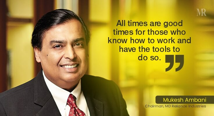 Mukesh Ambani Quotes | business tycoons
